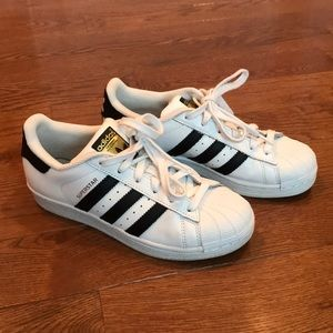 "Children's Adidas Superstar ""shell toes"""